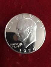 1974 Mirror Proof Eisenhower Dollar High Grade