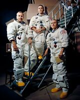 New 8x10 NASA Photo: Crew of Apollo 8 Lunar Mission - Borman, Lovell and Anders