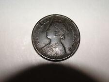 India 1878 1/4 One Quarter Anna - You Grade It (#Ef2d)