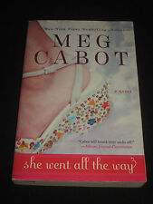 msm* SALE : MEG CABOT ~ SHE WENT ALL THE WAY  tp