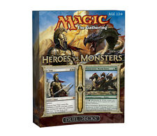 Magic the Gathering Heroes Vs. Monsters Duel Decks (Limited Edition Theme Decks)