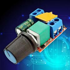 Mini DC Motor PWM Governor 3V 6 12 24 35V Speed Switch LED Dimmer 5A vbn