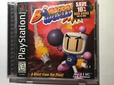 BOMBERMAN WORLD Bomber Man •PS1 PlayStation 1• COMPLETE in Case