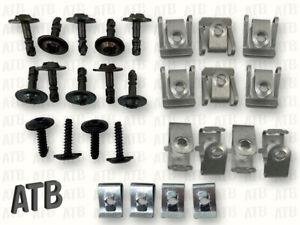 Clips Satz Befestigungssatz Einbausatz Unterfahrschutz für Audi A4 A5 A6 A7 Q5