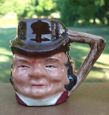 Vintage Sterling Pottery England Miniature Character Toby Jug /Mug *Farmer Giles