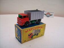 Matchbox 1-75, Nr.26, GMC Tipper Truck 1968, Red/Green/Silver, OVP