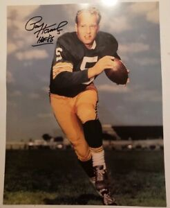 Paul Hornung Green Bay Packers Signed 11x14 Photo with COA