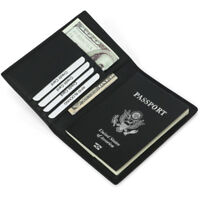 [Christmas Gift] Travel Tool RFID Leather Passport Cash Tidy Holder Card Slot US