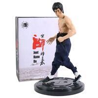 Bruce Lee Jeet Kune Do Three-Headed 1/6 Limited PVC Figure Statue Model Toy