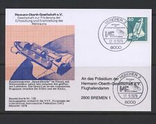 Germany 1975 B482 Space on 1979 Postal card Astronaut Congress