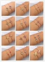 Micro Pave CZ Rhinestone Slider Chain Bracelet Adjustable Bangle Women Jewelry