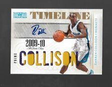 2009-10 Panini National Treasures Timeline Darren Collison Patch RC Auto #2/5