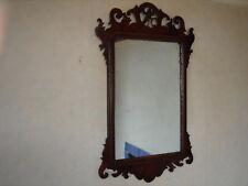 Geo III Mahogany framed Wall Mirror