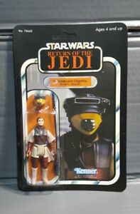 Vintage Recarded Star Wars Princess Leia in boushh disguise Action Figure