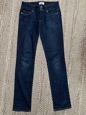 Paige Straight Jeans Women's Sz 28 Blue Rn# 27002