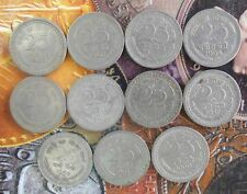 11 Coins YEAR SET 1957 1959 1960 1961 1962 1963 ... 1967 1968 - 25 Paise