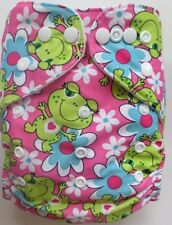 New Froggy Pocket Cloth Diaper Nappy Reusable Washable Adjustable Eco Friendly