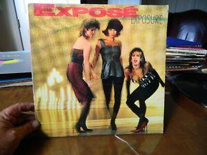 """Expose Exposure 1987 LP 12"""" Vinyl Record AL-8441 Arista Records EX"""