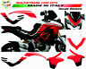 "Kit adesivi pikes-peak design Moto Ducati Multistrada 1200 ""V289"""
