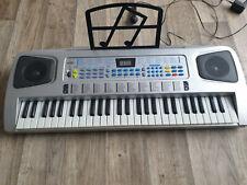 Sky 0754235506546 Tastatur und Piano für Kinder 54 Tasten mit Mikrofon, Netzteil