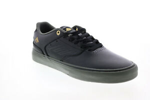 Emerica The Low Vulc 6101000131971 Mens Gray Skate Inspired Sneakers Shoes