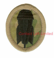 OFFICIAL Multicam Army BOMB DISPOSAL / EOD BADGE RE