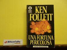 L 4.539 LIBRO UNA FORTUNA PERICOLOSA DI KEN FOLLETT 1995