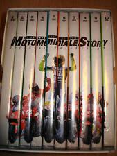 BOX 10 DVD MOTOMONDIALE STORY 2 VALENTINO ROSSI VALE LE 10 GARE INDIMENTICABILI