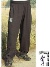 schwarze Fitnesshose ohne Druck BW Trainingshose Pants Bodybuilding Free4Sport