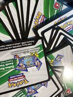 POKEMON TCG! ONLINE CODE CARD - 2 RANDOM BOOSTER (INSTANT MESSAGE)