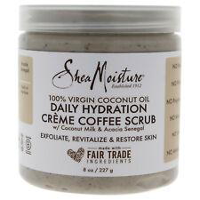 100% Virgin Coconut Oil Daily Hydration Coffee Scrub by Shea Moisture 8 oz