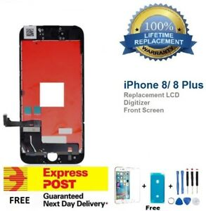 For iPhone 8/8 Plus LCD Touch Screen Replacement Digitizer Display Assembly