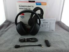 HyperX Cloud Flight S Wireless 7.1 Surround Sound Headset For PS4 & PC - Used