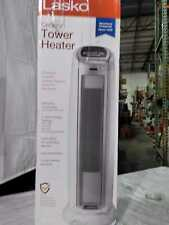 Lasko 23 in. 1500-Watt Digital Oscillating Ceramic Tower Heater - White