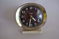 Vintage Westclox Baby Ben Alarm Clock Retro Mid-Century Teal Cream Repair