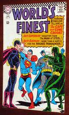World's Finest #159 FN Superman Batman, joker, penguin, riddler app