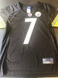 Reebok Women's S Pittsburgh Steelers Jersey #7 Ben Roethlisberger