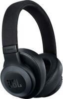 JBL E65BTNC Wireless Over-Ear Noise-Cancelling Headphones - Black - Sale!