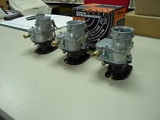 Ford 289 302 360 390 428 Fe Tripower 3 Dueces Big97 Stromberg 97 Carburetors