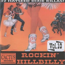 ROCKIN' HILLBILLY volume 10 CD Country Bop Rockabilly 1950s NEW 32 rural rockers