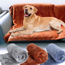 Fleece Dog Blankets for Large Dogs Soft Warm Dog Bed Pet Throw for Dogs & Cats