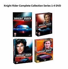 Knight Night Rider Complete Collection Series 1-4 Season 1 2 3 4 DVD UK NEW R2