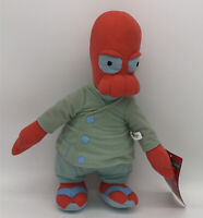 "Futurama Dr. Zoidberg Plush 15"" Toy Factory 2014 New With Tags Stuffed Doll"