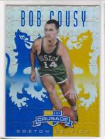 2012-13 Bob Cousy Panini Crusade Prizm Celtics
