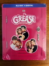 Brand NEW & SEALED!!! The Grease Collection [Blu-ray + Digital], SteelBook