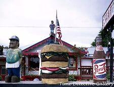 Fat Smitty's Diner, Discovery Bay, Washington - Giclee Photo Print