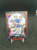 2019 Panini Prizm DANIEL JONES Cracked Ice Red Prizm Rc #302 NFL New York Giants