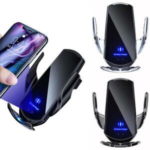Auto Wireless Ladegerät Auto Handy Halterung Induktionsladegerät Klemmung KFZ DE