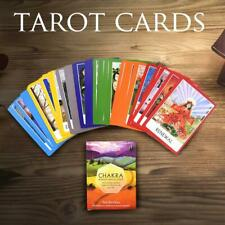 Chakra Tarot Card 49 Cards Deck Board Game Card Colorful Cards English