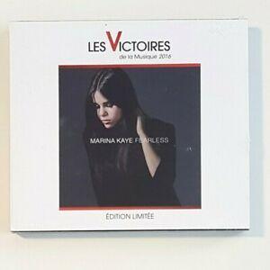 "MARINA KAYE : FEARLESS (EDITION LIMITEE ""VICTOIRES 2016"") ♦ CD NEUF / NEW ♦"